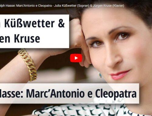 Opera to Go: Marc'Antonio e Cleopatra (Johann Adolph Hasse) [Online Konzert & Video]
